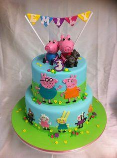 Tortas y Pasteles de Peppa Pig la Cerdita