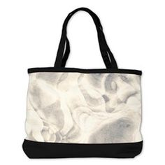 stylish Pale grey abstract grungy marble Shoulder