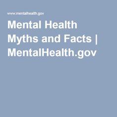 Mental Health Myths and Facts | MentalHealth.gov