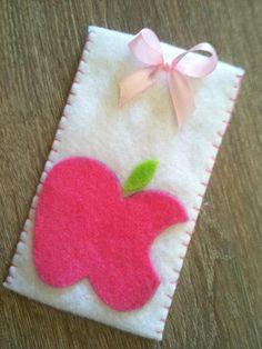 handmade felt iphone case