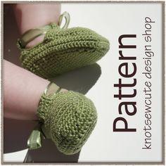 Multifunktionsleiste Babyschuhe  Crochet Pattern von knotsewcute