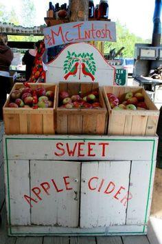 I wish I lived near here #apples #fall