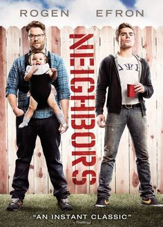 Mac and Kelly Radner enter into a one-upmanship war their neighbors, the Delta Psi Beta fraternity led by president Teddy Sanders.  Comedy, Rated R, 97 min.  http://ccsp.ent.sirsi.net/client/hppl/search/results?qu=efron+rogen&te=&lm=HPLIBRARY&dt=list