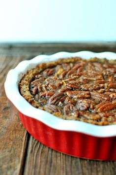 Over-the-top Delicious Pecan Pie without Corn Syrup   Nosh and Nourish