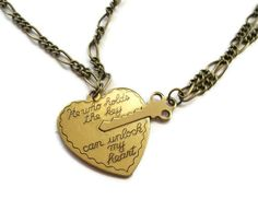 Key to Heart Necklace