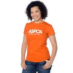 Love that I got 10% off Ladies ASPCA We Are Their Voice Orange T-Shirt S from ASPCA for $14.99. Share a product for a 10% coupon storewide + free ground shipping over $50!