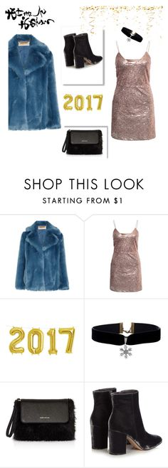 """...."" by misstunis ❤ liked on Polyvore featuring MICHAEL Michael Kors, NLY Trend, Karen Millen and Gianvito Rossi"