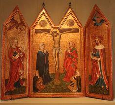 1425, Cadolzburger Altar - Jagdschloss Grunewald - Meister des Cadolzburger Altars. Foto: Von Tanzmariechen - Eigenes Werk, Gemeinfrei, https://commons.wikimedia.org/w/index.php?curid=47230598