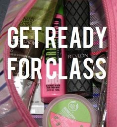 The College Girl's Guide to Makeup for Class. Super easy and fast tips for looking great!