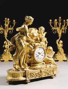 Antique Wall Clocks, Wall Clock Wooden, Clock Art, Clock Decor, Louis Xvi, Plywood Furniture, Classic Clocks, Wall Clock Online, Wall Clock Design