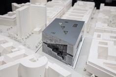 Propuesta ganadora de OMA para el Campus de Axel Springer en Berlin. Imagen cosrtesía de Axel Springer SE