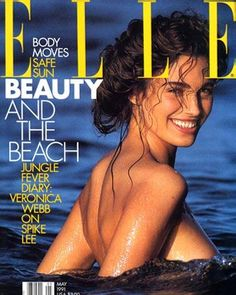 Fabienne Terwinghe - Elle Magazine [United States] (May and Elle Magazine [Germany] (June Magazine Wall, Magazine Mode, Elle Magazine, Fashion Magazine Cover, Fashion Cover, Magazine Covers, Elle Fashion, 80s Fashion, Top Models