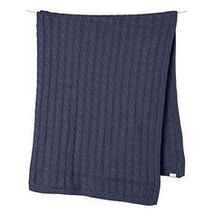 BLANKET | organic cotton in dusk by toshi | Cranmore Home