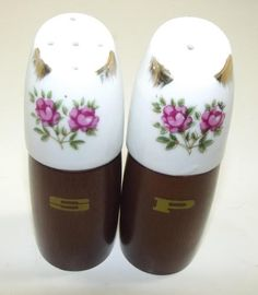 Vintage Nevco Ceramic And Wood Salt And Pepper Shakers by Nevco Japan, http://www.amazon.com/dp/B0093OHKIY/ref=cm_sw_r_pi_dp_MYMpqb1MQSMMH
