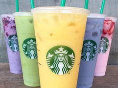 As if Starbucks wasn't already some mystical, magical place that could cure your caffeine addiction and help you get through your day, it definitely is now. The fact that Starbucks is letting you drink every color of the rainbow makes them that much better in my book. If you thought