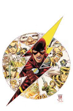 The Flash & His Rogues - Francis Manapul