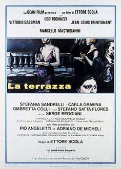 LA CENA 1998 Ettore Scola con Vittorio Gassman, Giancarlo Giannini ...