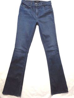 J Brand size 29 x 33 Remy 8017 High rise boot cut Sincere blue wash Womens jeans #JBrand #BootCut