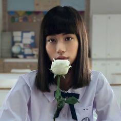 "'Kitty' Chicha Amatayakul in ""Girl From Nowhere"" Prity Girl, Girl God, Pretty Asian Girl, Thai Drama, Bad Girl Aesthetic, Nature Aesthetic, Actor Model, Girl Crushes, New Girl"