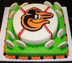 Miraculous 29 Best Baltimore Orioles Cakes Images Baltimore Orioles Personalised Birthday Cards Epsylily Jamesorg