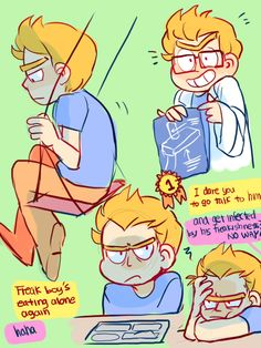 ttoba's Art Blog — 1st pic: What if Evil Morty is just a nervous and...