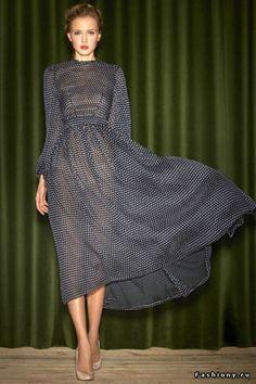 Ulyana Sergeenko Fall 2012 Capsule Collection dress
