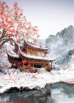 「潇梦璃月」风寐雪迟 。
