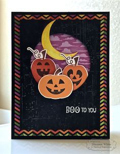 Boo to You Card by Shannon White