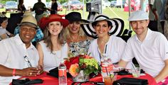 Weydan & Angela Flax, Brenda Cope, Nichole Bryant, Tames Stanton; Center Polo Classic, The Center for Individuals with Physical Challenges, Tulsa Polo Classic, Challenges, Scene, Amp, Fashion, Moda, Fashion Styles, Fashion Illustrations, Stage