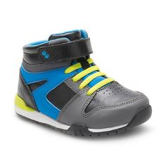 TARGET:  Was $29.99, NOW $11.98! (Xtra 20% at Checkout)  Surprize by Stride Rite Toddler Boys' Cody High Top Sneakers  Size 5-12  SAVE $18: https://rvst.shop/2Cf8crr  #ad