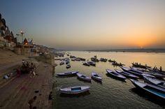 Sunrise at Ganges River