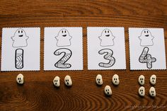Ghost Numbers and Counters Layout | Flickr - Photo Sharing!