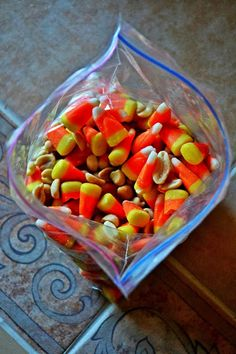 Candy Corn + Peanuts = PayDay Candy Bar!