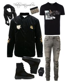 Untitled #791 by fbailey126 on Polyvore featuring polyvore, Neil Barrett, AMIRI, adidas Originals, G-Shock, Givenchy, Gucci, men's fashion, menswear and clothing