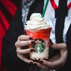 Starbucks's New Halloween Frappuccino Flavor Will Give You Chills!