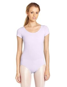 Capezio Womens Classic Short Sleeve Leotard * Click on the image for additional details. (This is an affiliate link)