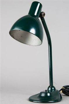 Vare: 3272880 Marianne Brandt & Hin Bredendieck, sjælden Bauhaus skrivebordslampe, model 679 drg, fremstillet hos Körting & Mathiesen (Kandem), Leipzig-Leutzsch