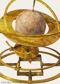 Orrery Celestial Globe