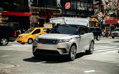 Scarica sfondi 4k, Range Rover Velare R-Dinamica, 2018 auto, Suv, via, Range Rover
