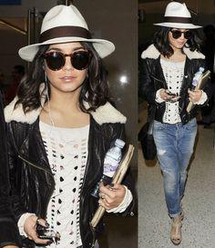 Celebrities Traveling In Style-Vanessa Hudgens