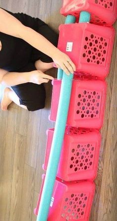 30 of the newest DIY space saving storage ideas to keep your home organized! Check out all the projects. #organizing #storage #diy