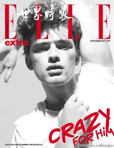Uniqlo, DKNY, Gap, Zara, etcetera also known as Sean O'Pry got his very own cover of Elle China. American Male Models, Sean O'pry, Prom Photos, Gianfranco Ferre, Dazed And Confused, Belstaff, Down South, Advertising Campaign, London Travel