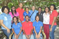 Professor Paulette Ramsay (Head of the Department of Modern Languages and Literatures), Ms. Nadine Barnett (Spanish Instructor) and Mr. Ossain Martinez (Spanish Instructor) pose with students who they will accompany to Cuba for an culture immersion programme. #UWIMONA #FacultyofHumanitiesandEducation #DepartmentofModernLanguagesandLiteratures #Spanish #LanguageLearning #StudyAbroad #Jamaica #Cuba