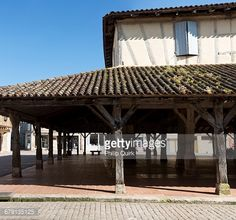 century covered marketplace or halle in Villereal France. century covered marketplace or halle in… Gazebo, Pergola, Halle, Medieval, Outdoor Structures, France, Architecture, Outdoor Decor, Arquitetura