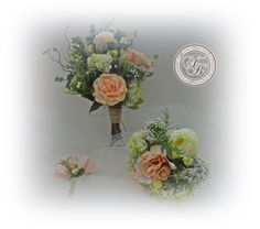 Hey, I found this really awesome Etsy listing at https://www.etsy.com/listing/197533003/wedding-package-bride-bouquet-2