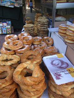 Koulouria!! Greek breakfast food!!