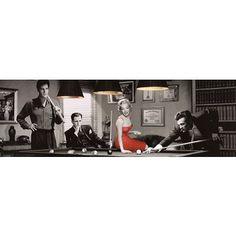 Amazon.com: Chris Consani Legal Action James Dean Elvis Presley Marilyn Monroe Humphrey Bogart Art Poster - 12x36 custom fit with RichAndFramous Black 36 inch Poster Hangers: Home & Kitchen