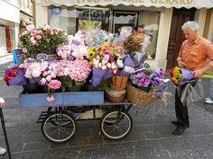 Antibes flowers at the markets Cap D Antibes, Antibes France, Provence France, Monaco, Saint Martin Vesubie, Cagnes Sur Mer, Juan Les Pins, Villefranche Sur Mer, Flower Cart