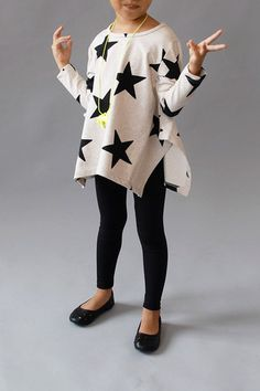 the | etoiles | top black star sweater - WUNWAY