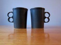 Bennington trigger mugs by PardonMyVintage on Etsy https://www.etsy.com/listing/69923357/bennington-trigger-mugs